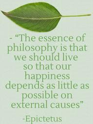 Epictetus on Happiness