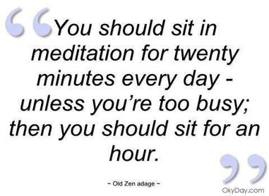 Meditate Daily